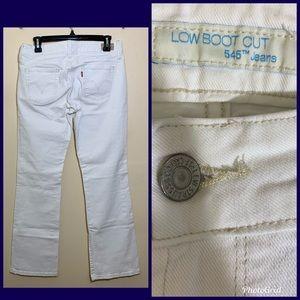 Levis | Low Boot Cut 545 Jeans Size 6